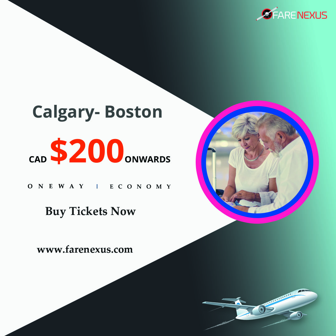 One way cheap Air Tickets Calgary- Boston One Way Flights from CAD 200 Afula, Israel Classifieds