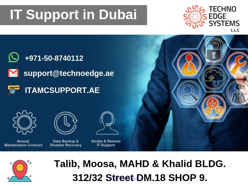 IT Support in Dubai for your Company by Techno Edge Systems LLC