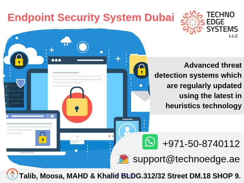 Benefits of Endpoint Security System Dubai, UAE & Security Solutions