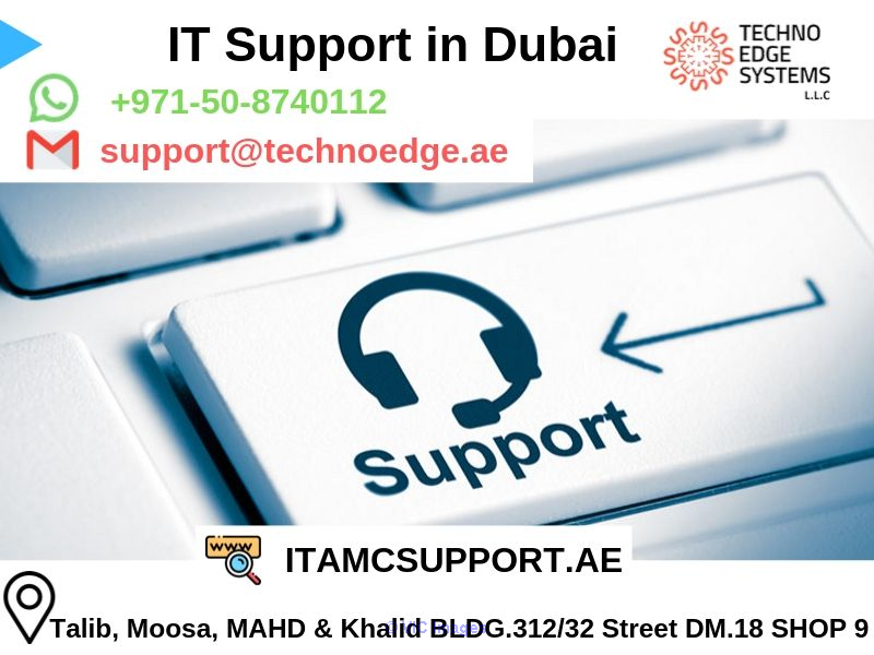 IT Support in Dubai for your Organization - Techno Edge Systems LLC afula