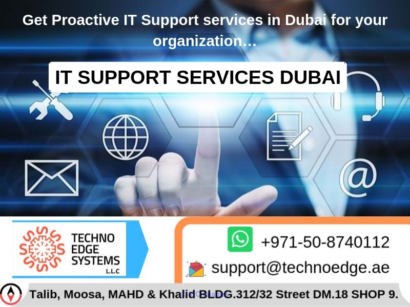 It Support Services And Solutions Company In Dubai, UAE